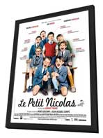 Petit Nicolas, Le - 11 x 17 Movie Poster - French Style C - in Deluxe Wood Frame