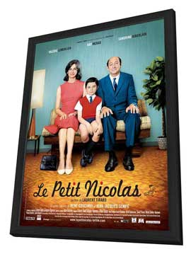 Petit Nicolas, Le - 11 x 17 Movie Poster - French Style B - in Deluxe Wood Frame
