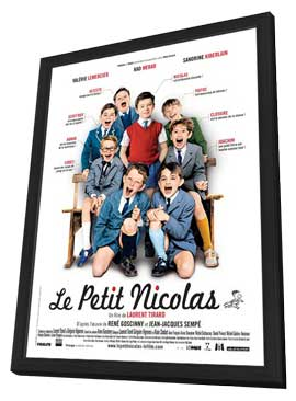 Petit Nicolas, Le - 27 x 40 Movie Poster - French Style C - in Deluxe Wood Frame