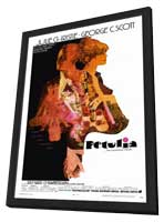 Petulia - 11 x 17 Movie Poster - Style A - in Deluxe Wood Frame
