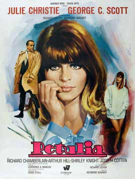 Petulia - 11 x 17 Movie Poster - French Style B
