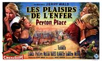Peyton Place - 11 x 17 Movie Poster - Belgian Style A