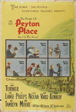 Peyton Place - 27 x 40 Movie Poster - Style C