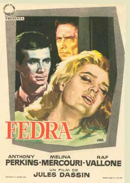 Phaedra - 11 x 17 Movie Poster - Spanish Style A