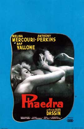 Phaedra - 11 x 17 Movie Poster - French Style A