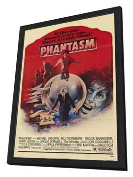 Phantasm - 11 x 17 Movie Poster - Style B - in Deluxe Wood Frame