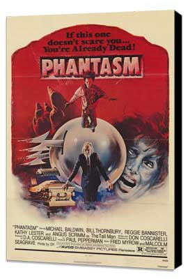 Phantasm - 27 x 40 Movie Poster - Style A - Museum Wrapped Canvas