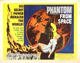 Phantom from Space - 22 x 28 Movie Poster - Half Sheet Style A