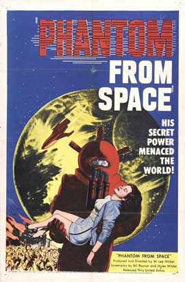 Phantom from Space - 11 x 17 Movie Poster - Style A
