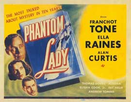 Phantom Lady - 11 x 14 Movie Poster - Style A