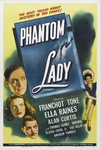 Phantom Lady - 11 x 17 Movie Poster - Style A