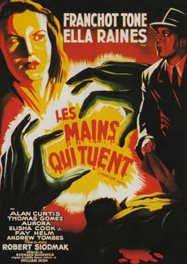 Phantom Lady - 11 x 17 Movie Poster - French Style A