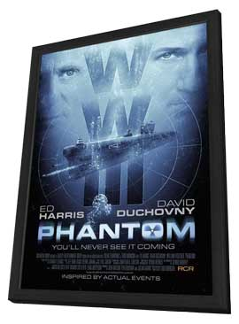 Phantom - 11 x 17 Movie Poster - Style A - in Deluxe Wood Frame