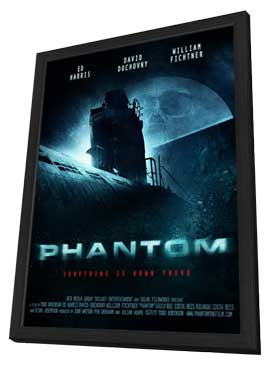 Phantom - 11 x 17 Movie Poster - Style B - in Deluxe Wood Frame