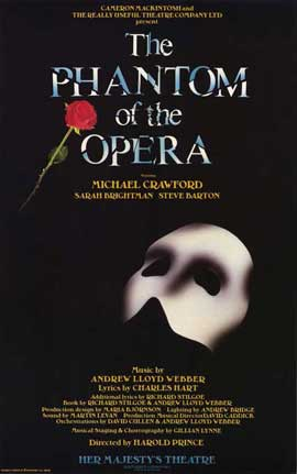 Phantom of the Opera, The (Broadway) - 11 x 17 Poster - Style A