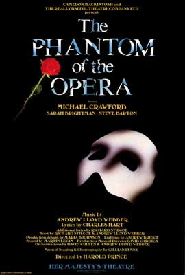 Phantom of the Opera, The (Broadway) - 27 x 40 Poster - Style A