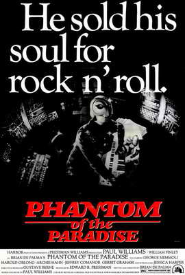 Phantom of the Paradise - 27 x 40 Movie Poster - Style B