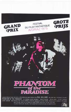 Phantom of the Paradise - 14 x 22 Movie Poster - Belgian Style A