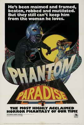 Phantom of the Paradise - 27 x 40 Movie Poster - Style C