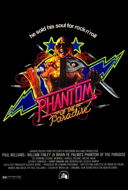 Phantom Of The Paradise Movie Posters From Movie Poster Shop