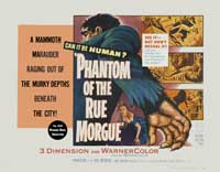 Phantom of the Rue Morgue - 30 x 40 Movie Poster UK - Style A