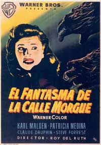 Phantom of the Rue Morgue - 11 x 17 Movie Poster - Spanish Style B