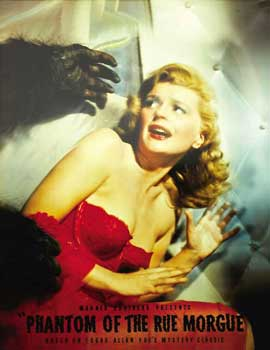 Phantom of the Rue Morgue - 11 x 17 Movie Poster - Style C