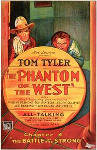 Phantom of the West - 11 x 17 Movie Poster - Style C