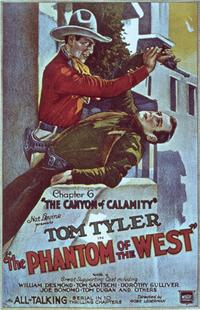 Phantom of the West - 11 x 17 Movie Poster - Style L
