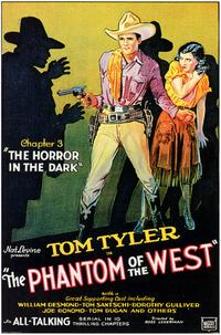 Phantom of the West - 27 x 40 Movie Poster - Style A