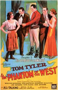 Phantom of the West - 27 x 40 Movie Poster - Style B