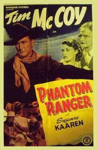 Phantom Ranger - 11 x 14 Movie Poster - Style A