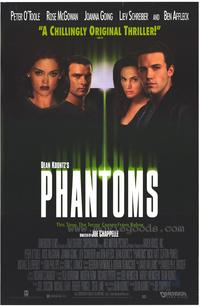 Phantoms - 43 x 62 Movie Poster - Bus Shelter Style A