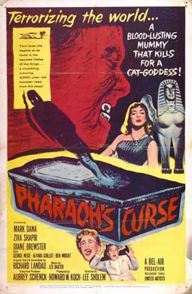 Pharaoh's Curse - 11 x 17 Movie Poster - Style A