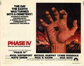 Phase IV - 11 x 14 Movie Poster - Style A