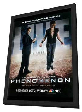 Phenomenon (TV) - 11 x 17 TV Poster - Style A - in Deluxe Wood Frame