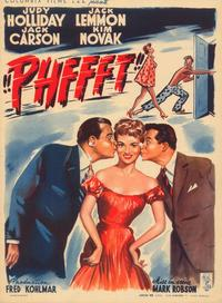 Phffft! - 27 x 40 Movie Poster - Belgian Style A