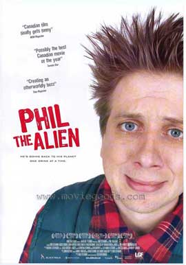 Phil The Alien - 11 x 17 Movie Poster - Style A
