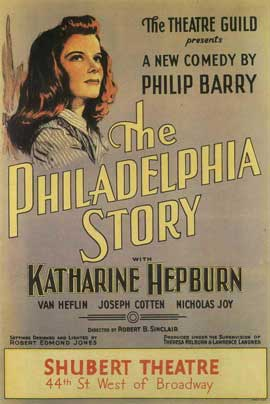 Philadelphia Story, The (Broadway) - 11 x 17 Poster - Style A