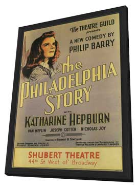 Philadelphia Story, The (Broadway) - 11 x 17 Poster - Style A - in Deluxe Wood Frame