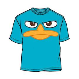 Phineas and Ferb: Across the Second Dimension - Perry Face T-Shirt
