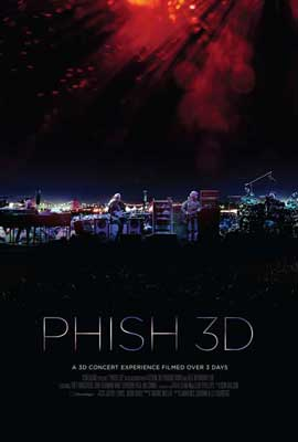 Phish 3D - 11 x 17 Movie Poster - Style A
