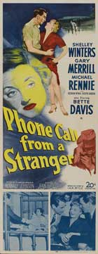 Phone Call From a Stranger - 14 x 36 Movie Poster - Insert Style A