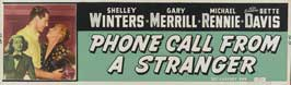 Phone Call From a Stranger - 14 x 36 Movie Poster - Insert Style B