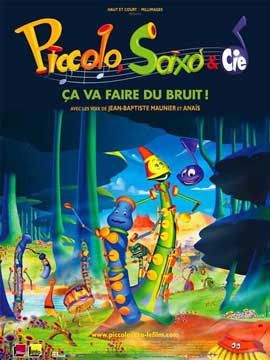 Piccolo, Saxo et compagnie - 11 x 17 Movie Poster - French Style A
