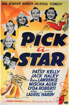 Pick a Star - 11 x 17 Movie Poster - Style A