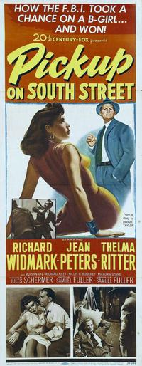 Pickup on South Street - 14 x 36 Movie Poster - Insert Style A