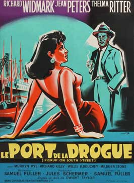 Pickup on South Street - 11 x 17 Movie Poster - French Style B