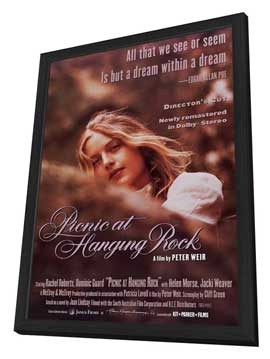 Picnic at Hanging Rock - 11 x 17 Movie Poster - Style A - in Deluxe Wood Frame
