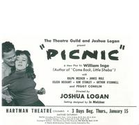 Picnic (Broadway) - 14 x 22 Poster - Style A